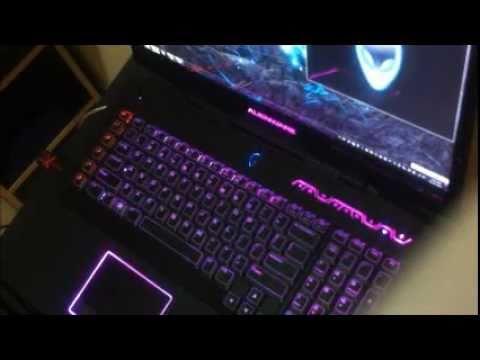Alienware m18x with Alienware FX WMP
