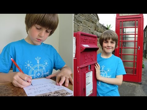 Boy, 9, Writes 1,000 Letters To Collect Mail From Every Country In The World