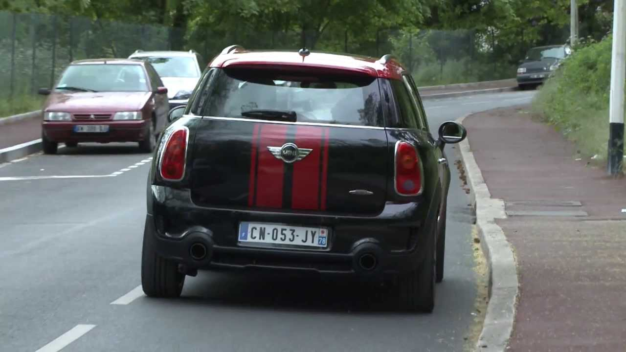 essai mini countryman john cooper works 2013 youtube. Black Bedroom Furniture Sets. Home Design Ideas