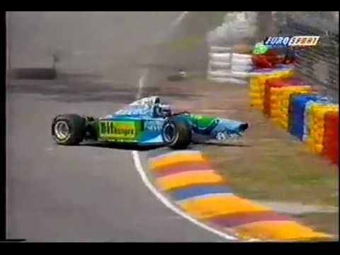 Michael Schumacher F1 crash 1994