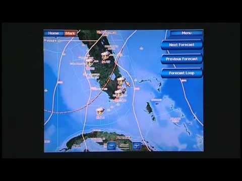 Garmin Marine Network - XM Weather