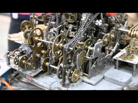 The amazing Do Nothing Machine at the Museum of Craftsmanship klip izle