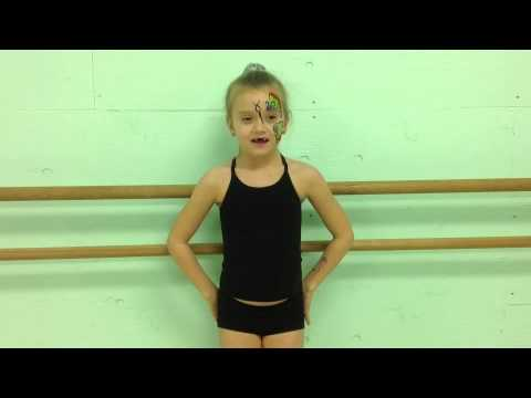 Butterflies (level 1-2 Rhythmic Gymnastics)