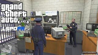GTA 5 LSPDFR 0.3 - EPiSODE 1 - LET'S BE COPS - CITY PATROL (GTA 5 PC POLICE MODS)