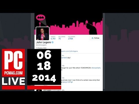 PCMag Live 06/18/14: John Legere's Angry Amazon Tweets & Yahoo's Diversity Report