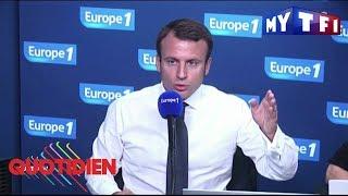 Macron : l'homme aux deux discours - Quotidien du 15 septembre