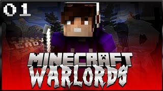 Minecraft: WARLORDS! Episode 1 - The Quest BEGINS!