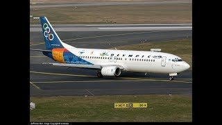 FSX Thessaloniki Airport  Greek  Olympic Airlines Boeing 737-400