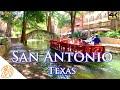 San Antonio Texas 4k TX Tour Riverwalk , Pearl, Downtown