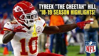 NFL's Most DANGEROUS Man, Tyreek Hill Burnt Defenses All Season Long! 2018-19 FULL Season Highlights