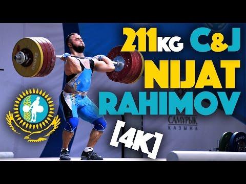 Nijat Rahimov (80.15) - 2016 Kazakh Nationals (211kg C&J) [4k]