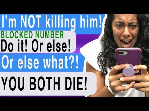A Stranger Wants Me To KILL MY BOYFRIEND?!? ( Time Of Death #5 | Cliffhanger | Scary Text Story)