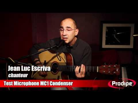 Test comparatif du micro MC1 Condenser Prodipe