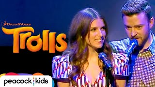 Justin Timberlake And Anna Kendrick 34 True Colors 34 Live At Cannes Official Trolls
