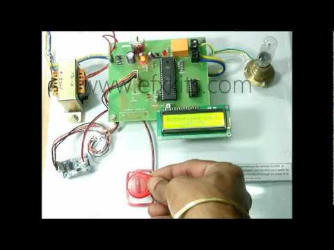 RFID Security Access Control System   Microcontroller based Projects
