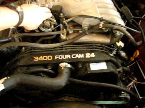 Toyota 5vz (3.4 V6) swap into 1985 22R Toyota Pickup - YouTube