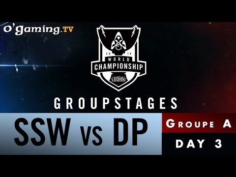 World Championship 2014 - Groupstages - Groupe A - SSW vs DP