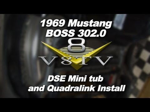 1969 Mustang BOSS 302.0 Detroit Speed Deep Tub and QUADRALink Install