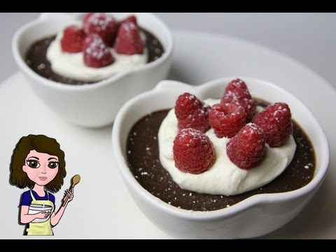 HOW TO MAKE CHOCOLATE POTS de CREME
