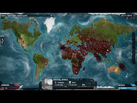 Mega Brutal Zombie Necroa Virus Plague Inc: Evolved Gameplay