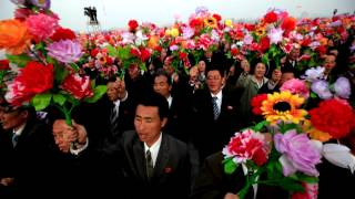North Korean Song: Accept the Best Wishes of the People!