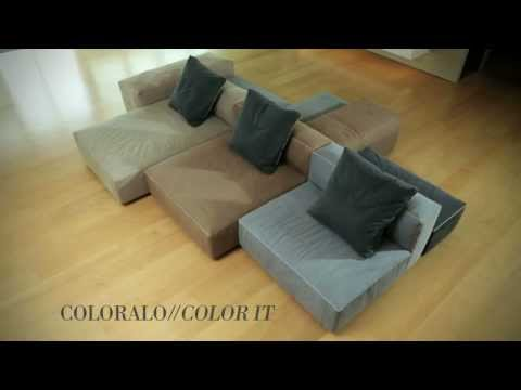 BLO US sofa: The arrangements can be rearranged