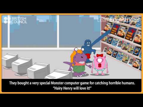 The monster shopping trip | Kids Stories | LearnEnglish Kids | British Council