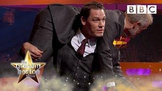 John Cena wants to TAKE DOWN Graham Norton! ? - BBC