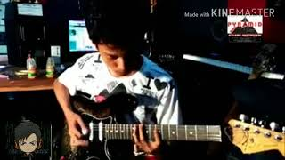 Lagu sayang Via Vallen di bikin versi Metal (gitar cover by Dede Adrian)