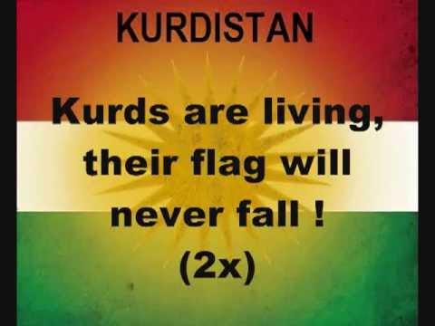 Kurdish Kurdistan National Anthem  كس اخت العراق كوردستان وبس