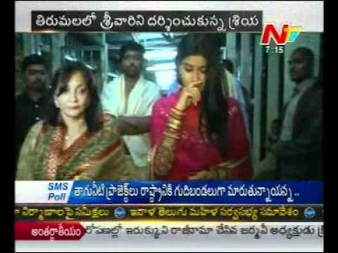 Shriya visits Tirumala regularly