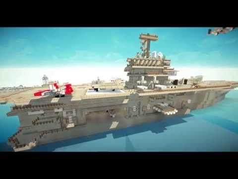 Minecraft Flugzeugträger