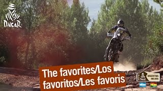 The Favorites / Los Favoritos / Les Favoris – Dakar 2016