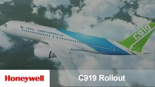 COMAC C919 Rollout | Products | Honeywell Aviation