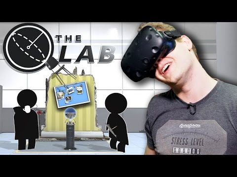 VR Experiments - The Lab