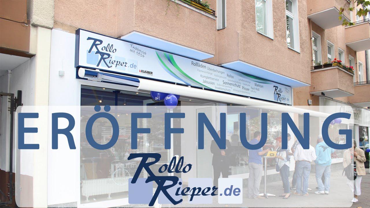 Er Ffnung Von Rollo Rieper In Berlin Friedenau Steglitz