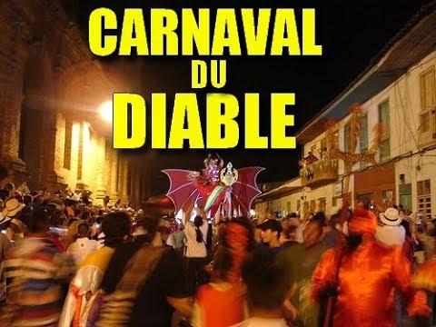 LE CARNAVAL DU DIABLE CELEBRE EN COLOMBIE UN ANS SUR DEUX ?!?! PREUVES ET DEBAT