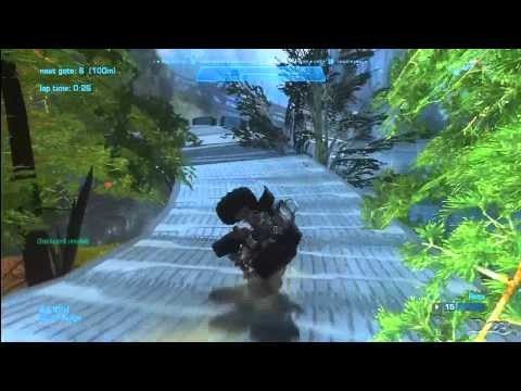 Halo Reach Racetrack Reviews - Episode 40 - The Rocky Mountains by SupahFlo