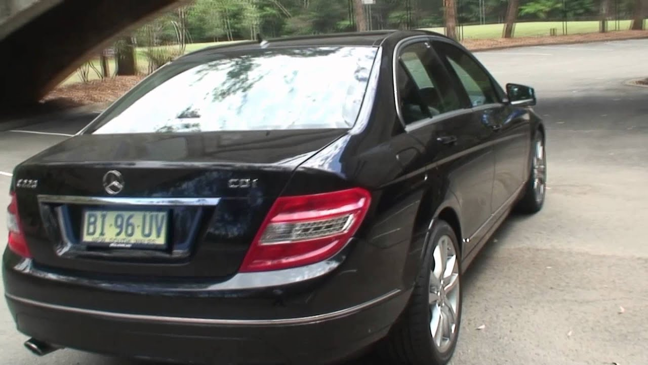 2010 mercedes benz c220 cdi for 53 000 from alto ford youtube. Black Bedroom Furniture Sets. Home Design Ideas