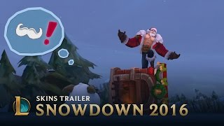 A Snowdown Snowtale | Snowdown 2016 Skins Trailer - League of Legends