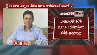 Telangana chief electoral officer Rajat Kumar spurs rumour on early polls date