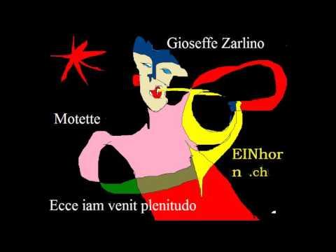 Gioseffo Zarlino - Ecce tu pulchra es