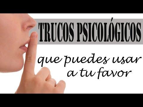 TRUCOS PSICOLÓGICOS QUE PUEDES USAR A TU FAVOR