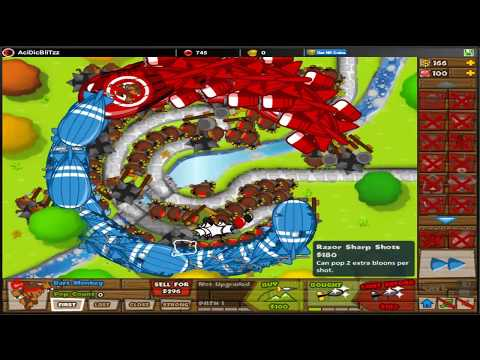 Bloons Tower Defense Btd Walk The Park Lives Lost Daily
