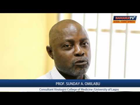 Ebola Virus Particles Can Be Transmitted By Air - Prof. S.A. Omilabu