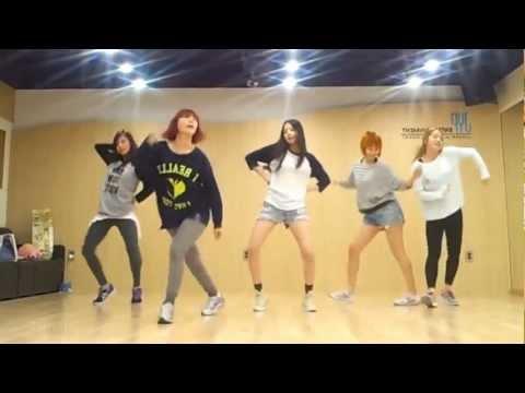 Wonder Girls 'like This' Mirrored Dance Practice video