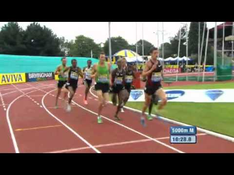 Men&#039;s 5000 m  Diamond League Aviva Birmingham Grand Prix 2011
