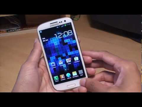 Samsung Galaxy S3 LED Indicator Notification Light Feature (SIII. i9300)