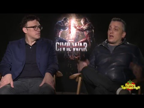 Captain America: Civil War Interviews - Anthony & Joe Russo