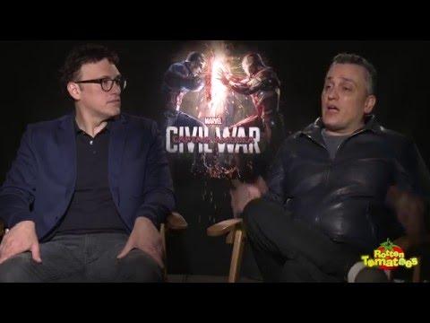 Captain America: Civil War Interviews - Anthony & Joe Russo